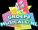 logo van groep8musicals.nl